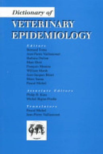 Dictionary of Veterinary Epidemiology
